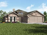 Photo 3 Bed, 2 Bath New Home plan in Lubbock, TX