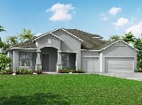 Photo 4 Bed, 3 Bath New Home plan in Spring Hill, FL