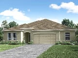 Photo 4 Bed, 3 Bath New Home plan in Palm Coast, FL