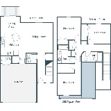 Photo Stonefield Townhomes - Three Bedroom - Plan B