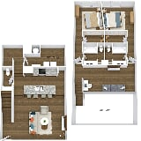 Photo Bass Lofts Apartments - Gym 2-Bed TH + Loft