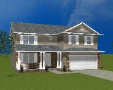 Photo 4 Bed, 2 Bath New Home plan in Cedar Lake, IN