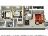 Photo Gateway Gardens - 2Bedroom 1Bathroom