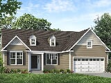 Photo 3 Bed, 2 Bath New Home plan in East Fallowfield...
