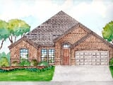Photo 4 Bed, 2 Bath New Home plan in Joshua, TX