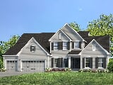 Photo 4 Bed, 3 Bath New Home plan in Lake Saint...