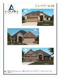 Photo 4 Bed, 3 Bath New Home plan in Crandall, TX