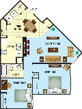Photo Osceola Bend Apartment Homes - Buttonwood