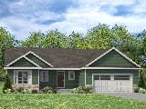 Photo 3 Bed, 2 Bath New Home plan in Mahomet, IL