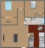 Photo Page Crossing Apartments - Page Crossing 2 bed...