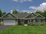 Photo 3 Bed, 2 Bath New Home plan in Martinsburg, WV