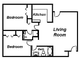 Photo The Lodges - 2 Bed 2 Bath