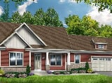 Photo 2 Bed, 2 Bath New Home plan in Pittsford, NY