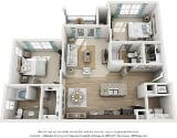 Photo The Ascent 2 Bedroom Apartment for Rent at 2471...