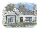 Photo 3 Bed, 2 Bath New Home plan in Pike Road, AL