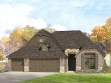 Photo Brand New Home in Owasso, OK. 4 Bed, 3 Bath.