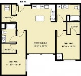 Photo The Meyden - 2 Bedroom 2 Bath C4
