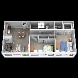 Photo 2200 Midtown Apartment Homes - 2 Bedrooms, 1.5...