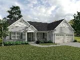 Photo 3 Bed, 2 Bath New Home plan in Mechanicsburg, PA