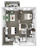 Photo Nona Park Village Apartments - A1 (Foxtail)